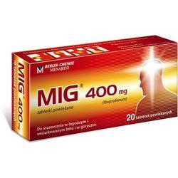MIG tabl.powl. 0,4g 20tabl.(2blist.po10sz