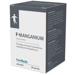 F-Manganium Formeds, Mangan w Proszku