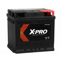 Akumulatory samochodowe, Akumulator X-PRO 50Ah 420A EN wysoki Prawy Plus