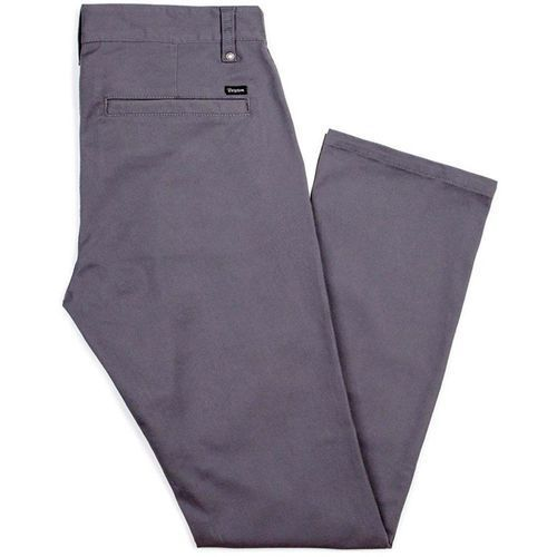 Spodnie męskie, spodnie BRIXTON - Reserve Chino Pant Charcoal (CHARC) rozmiar: 38