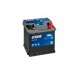 Akumulator Exide Excell 44Ah 400A kostka prawy plus