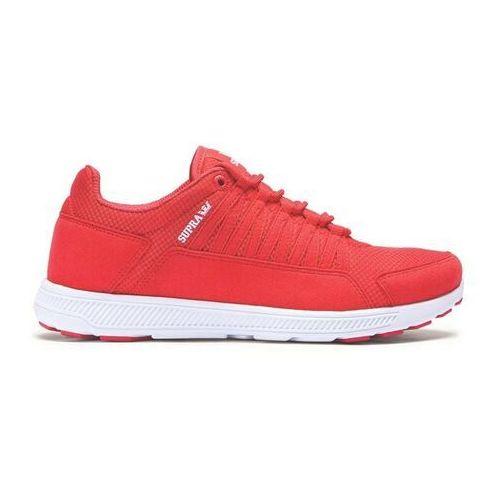 Męskie obuwie sportowe, buty SUPRA - Owen Red-White (RED) rozmiar: 40.5