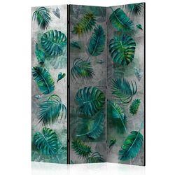 Parawan 3-częściowy - Modernistyczna dżungla [Room Dividers]