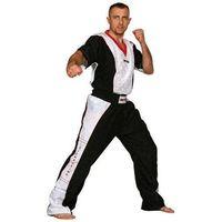 Pozostałe sporty walki, Spodnie do kickboxingu TOP TEN - SKBP-TT3 - czarno-biały