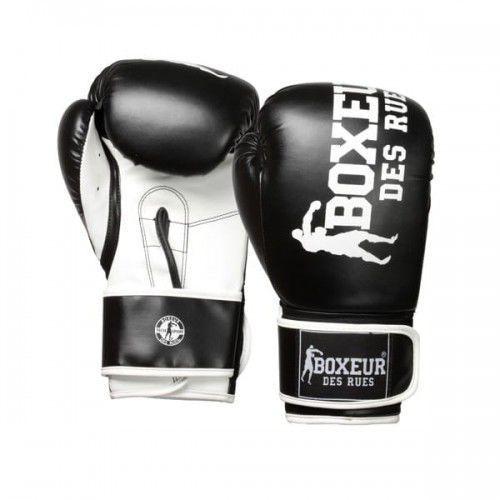 Rękawice do walki, BOXEUR Rękawice bokserskie bxt-5127 (10 oz) BLACK