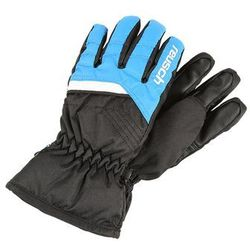 Reusch BENNET RTEX XT JUNIOR Rękawiczki pięciopalcowe brilliant blue/black