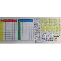 Tablice motywacyjne dla grupy przedszkolnej (18 osobowa) Tablica motywacyjna dla grupy przedszkolnej 18 osobowa