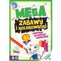 Kolorowanki, Megazabawy i kolorowanki Zeszyt 1 - Praca zbiorowa