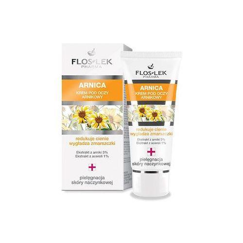 Kremy pod oczy, Flos pHarma Arnica krem pod oczy, 30 ml - FLOS-LEK