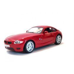 BMW Z4 M Coupe 27MHz 1:16 RTR 2WD zasięg do 15m 11 km/h - Czerwony