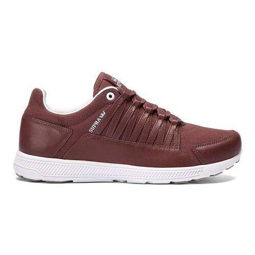 Męskie obuwie sportowe, buty SUPRA - Owen Chocolate - Off White (CHO) rozmiar: 45.5