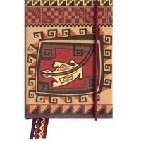 Notesy, Notatnik ozdobny 0017-04 PRECOLOMBINA MINI Cultura Inca