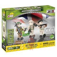 Figurki i postacie, Klocki COBI 2028 Brytyjczycy - 3 figurki z akcesoriami