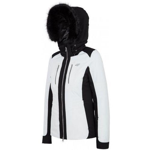 T4Z16 KUDN100] Kurtka narciarska damska KUDN100 biały