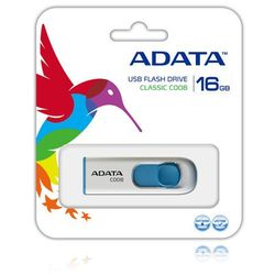 ADATA pami?? C008 16GB USB 2.0 ( White+Blue )
