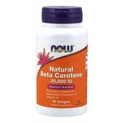 NOW Foods Naturalny Beta-karoten 7500 mcg 180 kaps