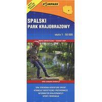 Mapy i atlasy turystyczne, Spalski Park Krajobrazowy mapa turystyczna (opr. broszurowa)