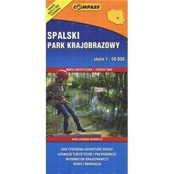 Spalski Park Krajobrazowy mapa turystyczna (opr. broszurowa)