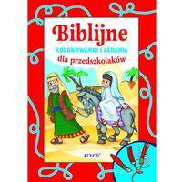 Kolorowanki, Biblijne kolorowanki i zadania dla przedszkolaków