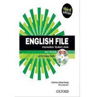 Książki do nauki języka, English File Third Edition Intermediate podręcznik + online skills (opr. miękka)