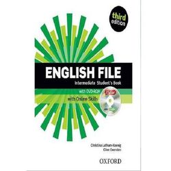 English File Third Edition Intermediate podręcznik + online skills (opr. miękka)