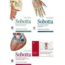 Atlas anatomii człowieka. Sobotta TOM 1-3 wyd.IV Mianownictwo anatomiczne polsko-angielsko-łacińskie