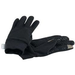Rękawiczki pięciopalczaste Reima Zinkenite czarne czyszczenie050 (-52%)