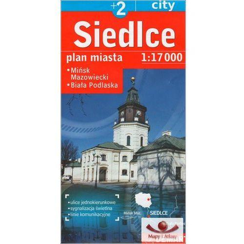 Przewodniki turystyczne, Siedlce Mińsk Mazowiecki Biała Podlaska plan miasta (opr. miękka)