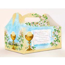 Pudełka na ciasto komunijne z podziękowaniem PUDCS7 / 1szt rabat 7%
