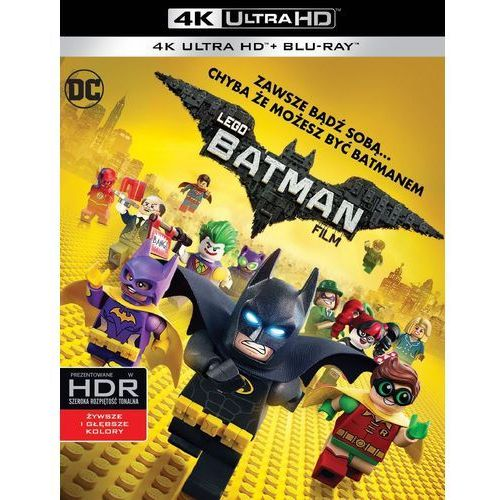 Bajki, LEGO BATMAN: FILM (2BD 4K)