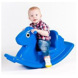 Koń na Biegunach Niebieski