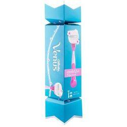 Gillette Venus Spa Breeze ComfortGlide zestaw Maszynka do golenia z jedną głowicą 1 szt. + podróżne pudełko 1 szt. dla kobiet