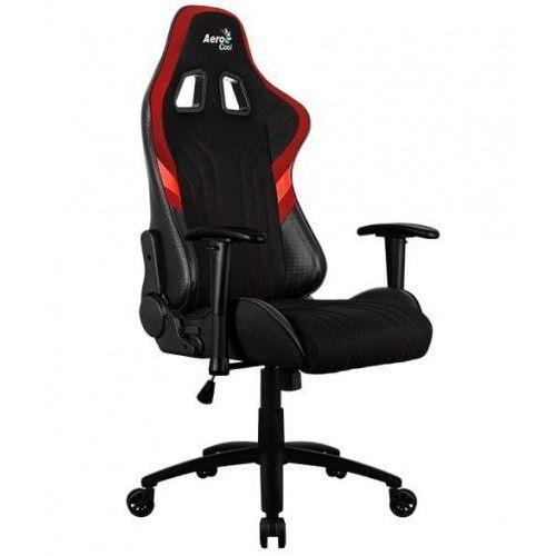 Fotele dla graczy, Fotel gamingowy Aerocool AERO 1 ALPHA AEROAERO1-ALPHA-BR (kolor czarny)