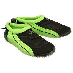 AXIM 5KL1528 zielony, buty do wody dziecięce, rozmiary 29-35 - Czarny