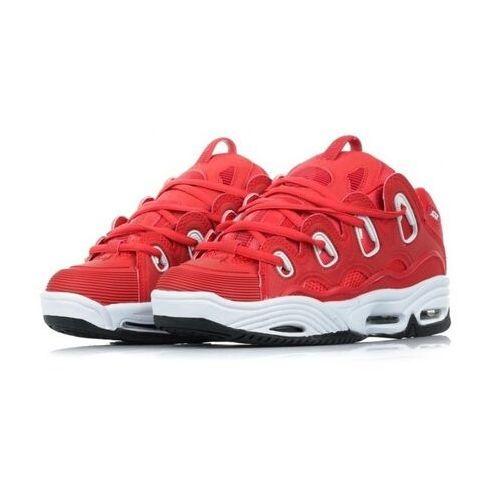 Męskie obuwie sportowe, buty OSIRIS - D3 2001 Red/White/Black (706)