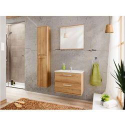 Zestaw KAYLA - meble łazienkowe 60 cm - imitacja drewna