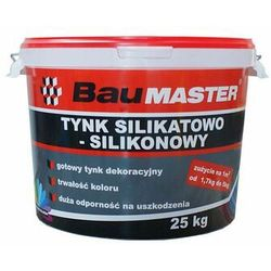Tynk silikatowo-silikonowy K101 25 kg BAUMASTER