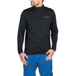 VAUDE Back Bowl Bluza na zamek błyskawiczny Mężczyźni, black S 2020 Bluzy polarowe
