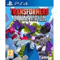 Gry na PS4, TRANSFORMERS DEVASTATION (PS4)