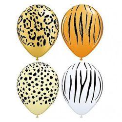 """Balon QL 11"""" z nadrukiem Maść dzikich zwierząt"""