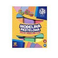 Modelina, Modelina pastelowa 12 kolorów ASTRA