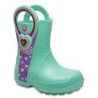Pozostałe obuwie dziecięce, Buty Crocs Handle It Graphic Boot Kids 204976 MINT - ZIELONY