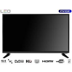 Telewizor LED 39'' z DVB-T2/C MPEG-4/2 USB HDMI VGA 230V