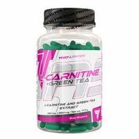 Redukcja tkanki tłuszczowej, TREC L-carnitine Green Tea - 90 kaps. - 90 kaps.