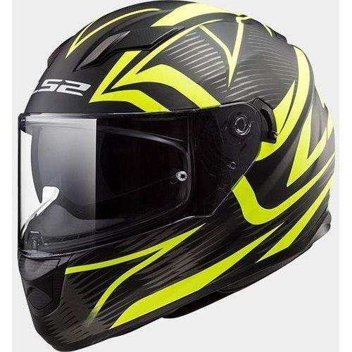 Kaski motocyklowe, KASK LS2 FF320 STREAM EVO JINK MATT BL-H-V YEL
