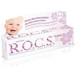Pasta do zębów dla dzieci (0-3 lata) ROCS