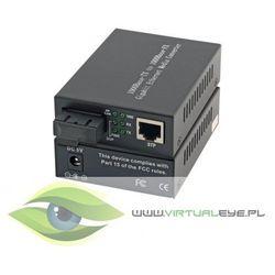 Intellinet Media konwerter 1000Base-T RJ45/1000Base-LX (SM SC) 10km 1310nm
