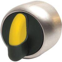 Pozostały sprzęt przemysłowy, niklowany 3 pozycyjny (45 stopni) 1 - 0 - 2 żółty PSMB3T0NL