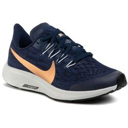 Buty NIKE - Air Zoom Pegasus 36 Gs AR4149 401 Midnight Navy/Mtlc Red Bronze