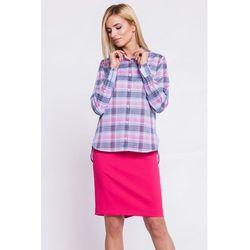 Koszula w pastelową kratę - Sobora